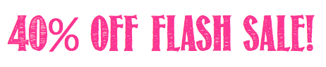 40 Flash Sale Pink