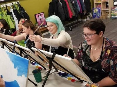girls night out byob paint class