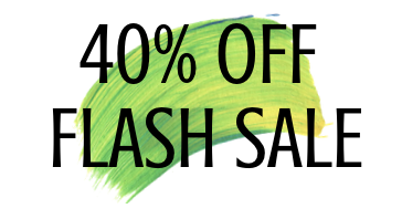 40 OFF FLASH SALE